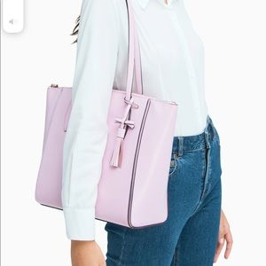 Kate Spade Kali Tote Quartz Pink Shoulder Bag